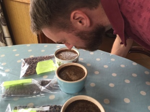 cuppingsmell